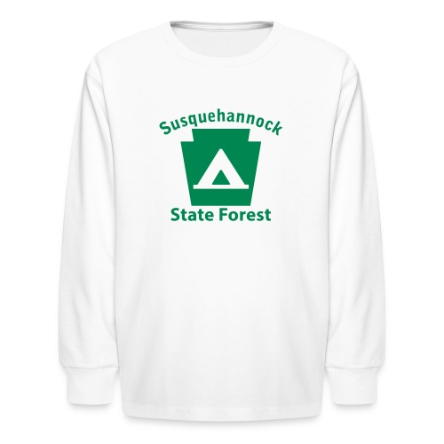 Susquehannock State Forest Keystone Camp - Kids' Long Sleeve T-Shirt