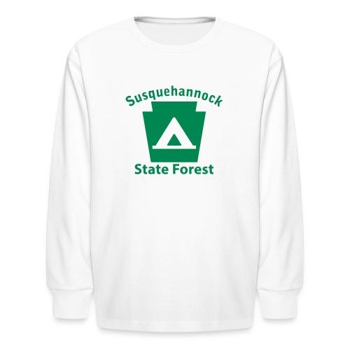 Susquehannock State Forest Keystone Camp - Kids' Long Sleeve T-Shirt