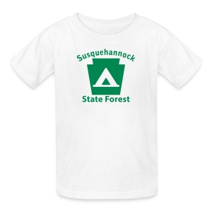 Susquehannock State Forest Keystone Camp - Kids' T-Shirt