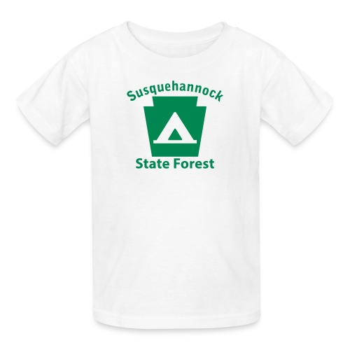 Susquehannock State Forest Keystone Camp - Kids' T-Shirt