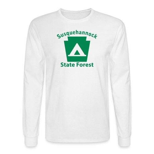 Susquehannock State Forest Keystone Camp - Men's Long Sleeve T-Shirt