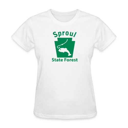 Sproul State Forest Keystone Fish - Women's T-Shirt