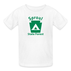 Sproul State Forest Keystone Camp - Kids' T-Shirt