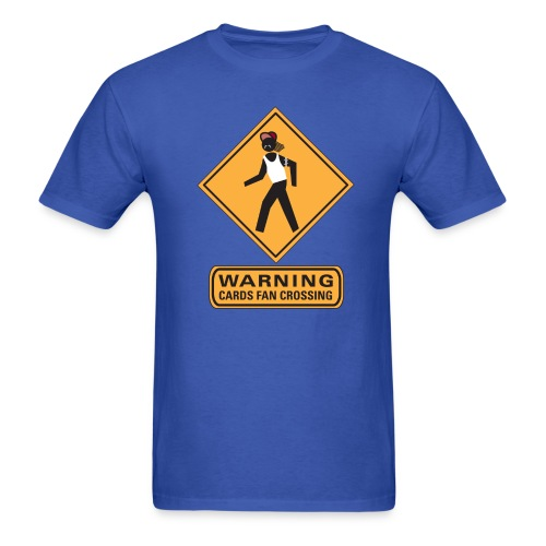 Cards Fan Crossing - Men's T-Shirt