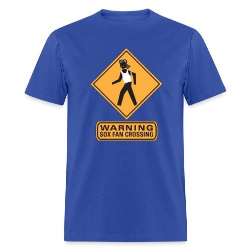 Sox Fan Crossing - Men's T-Shirt