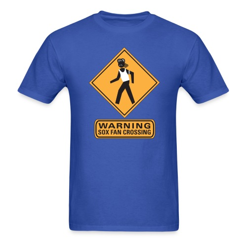 Sox Fan Crossing - Men's T-Shirt