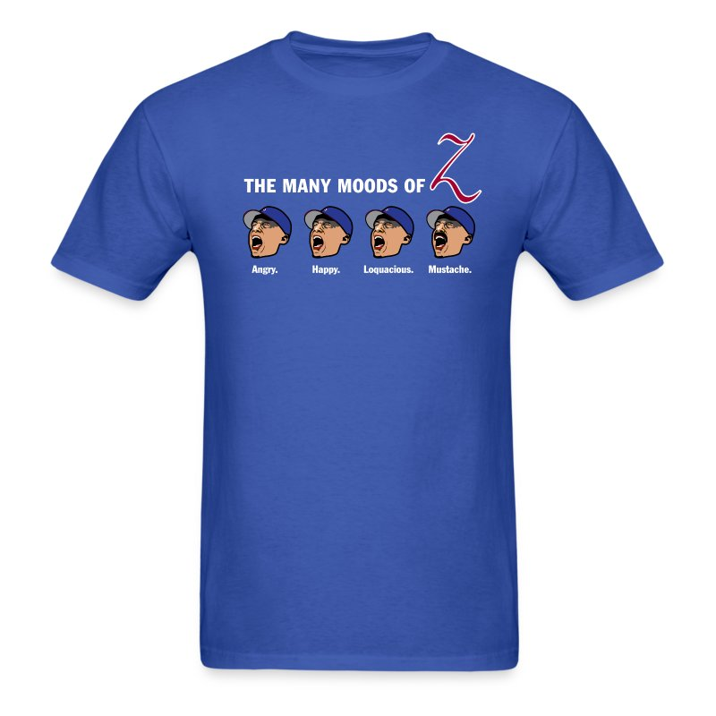 The Many Moods of Big Z - Men's T-Shirt