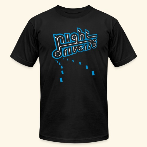 Night Driver '76 - Men's Fine Jersey T-Shirt
