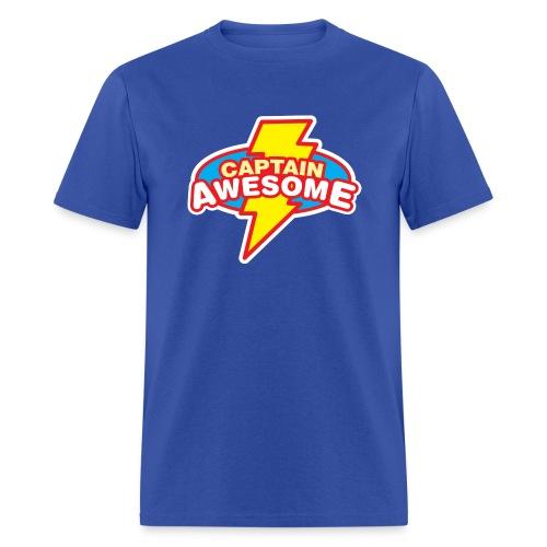 Captain Awesome ! - Men's T-Shirt