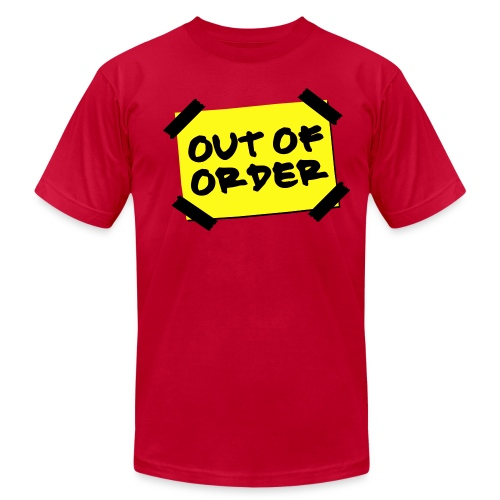 Out of Order ( Not Literaly )  - Men's Fine Jersey T-Shirt