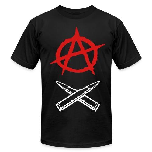 The War Tee blk/red - Men's Fine Jersey T-Shirt