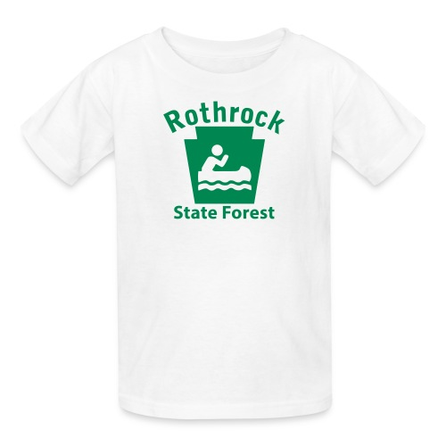Rothrock State Forest Keystone Boat - Kids' T-Shirt