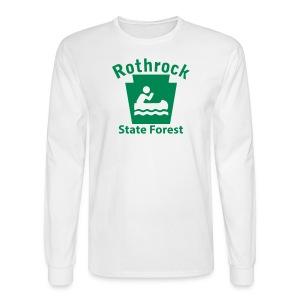 Rothrock State Forest Keystone Boat - Men's Long Sleeve T-Shirt