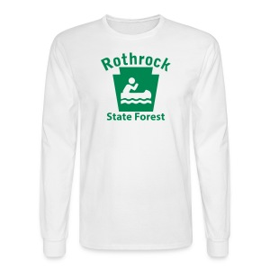 Rothrock State Forest Keystone Boat - Men's Long Sleeve T-Shirt
