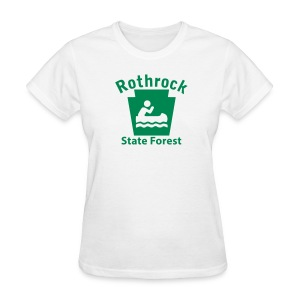 Rothrock State Forest Keystone Boat - Women's T-Shirt