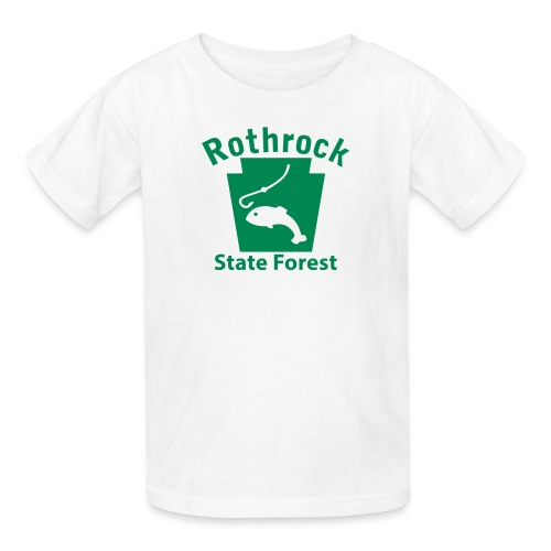 Rothrock State Forest Keystone Fish - Kids' T-Shirt