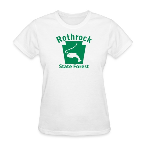 Rothrock State Forest Keystone Fish - Women's T-Shirt