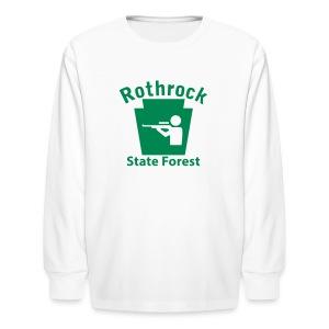 Rothrock State Forest Keystone Hunt - Kids' Long Sleeve T-Shirt