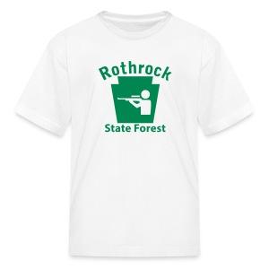 Rothrock State Forest Keystone Hunt - Kids' T-Shirt