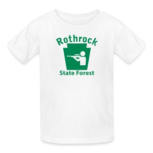 Rothrock State Forest Keystone Hunt - Kids' T-Shirt