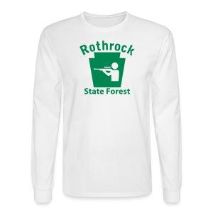 Rothrock State Forest Keystone Hunt - Men's Long Sleeve T-Shirt