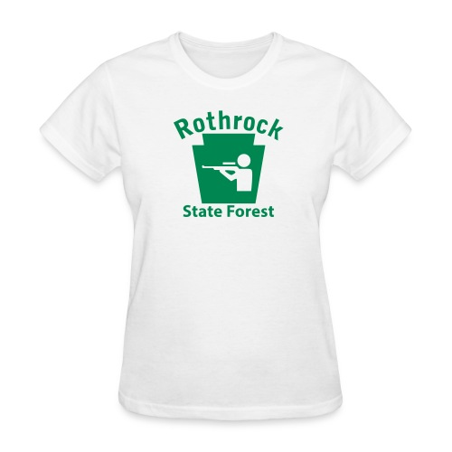 Rothrock State Forest Keystone Hunt - Women's T-Shirt
