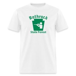 Rothrock State Forest Keystone Hunt - Men's T-Shirt