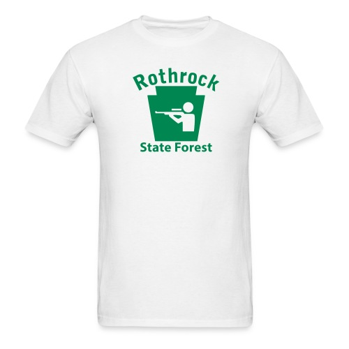 Rothrock State Forest Keystone Hunt - Men's T-Shirt
