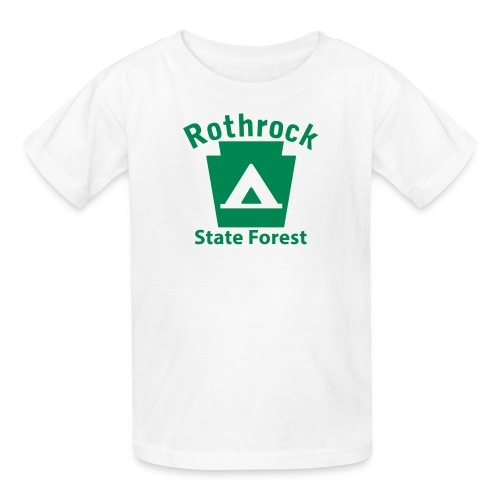 Rothrock State Forest Keystone Camp - Kids' T-Shirt