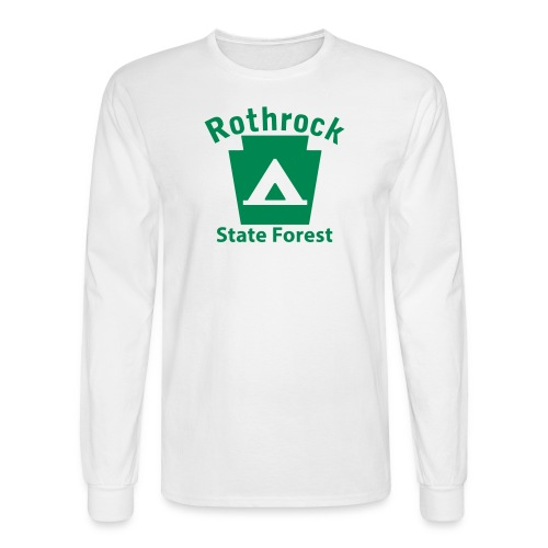 Rothrock State Forest Keystone Camp - Men's Long Sleeve T-Shirt