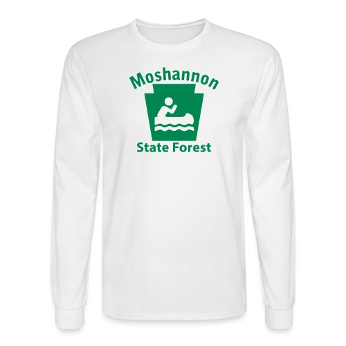 Moshannon State Forest Keystone Boat - Men's Long Sleeve T-Shirt