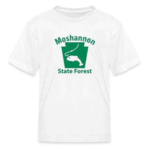Moshannon State Forest Keystone Fish - Kids' T-Shirt