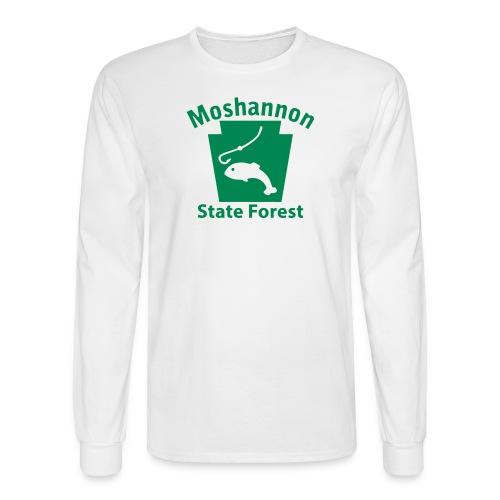 Moshannon State Forest Keystone Fish - Men's Long Sleeve T-Shirt
