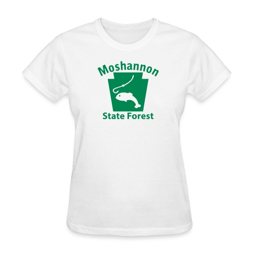Moshannon State Forest Keystone Fish - Women's T-Shirt