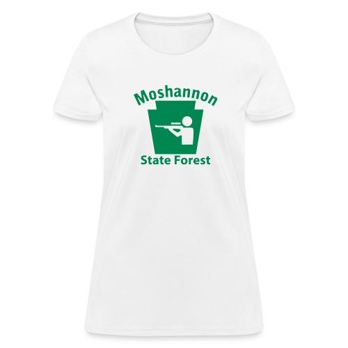 Moshannon State Forest Keystone Hunt - Women's T-Shirt