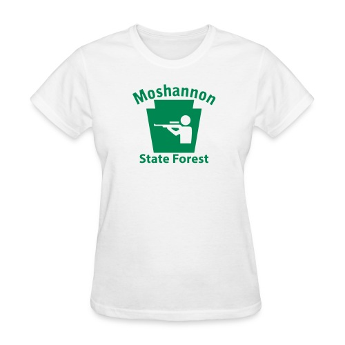 Moshannon State Forest Keystone Hunt - Women's T-Shirt