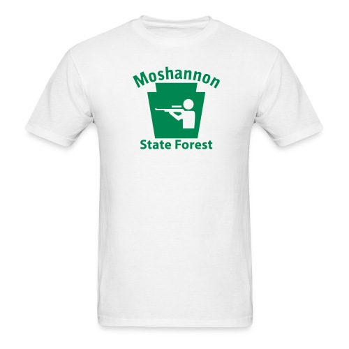 Moshannon State Forest Keystone Hunt - Men's T-Shirt
