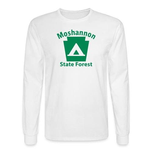 Moshannon State Forest Keystone Camp - Men's Long Sleeve T-Shirt