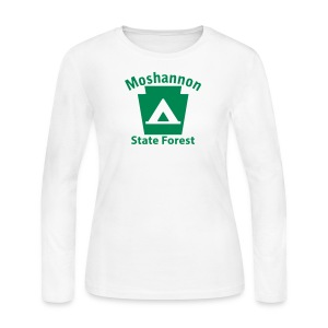 Moshannon State Forest Keystone Camp - Women's Long Sleeve Jersey T-Shirt