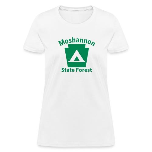 Moshannon State Forest Keystone Camp - Women's T-Shirt