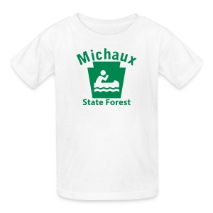 Michaux State Forest Keystone Boat - Kids' T-Shirt