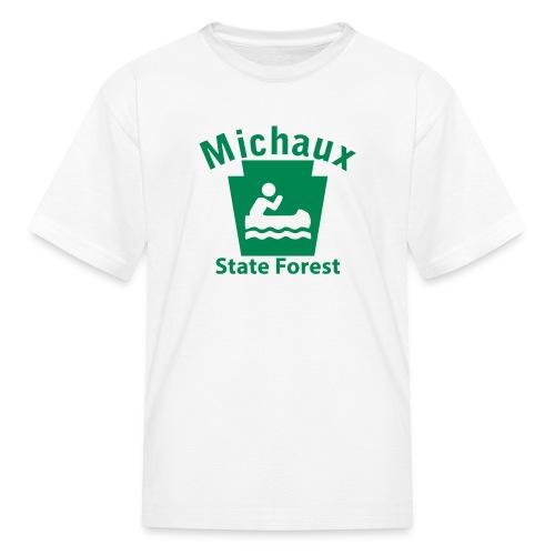 Michaux State Forest Keystone Boat - Kids' T-Shirt