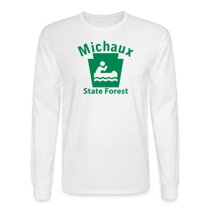 Michaux State Forest Keystone Boat - Men's Long Sleeve T-Shirt