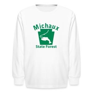 Michaux State Forest Keystone Fish - Kids' Long Sleeve T-Shirt