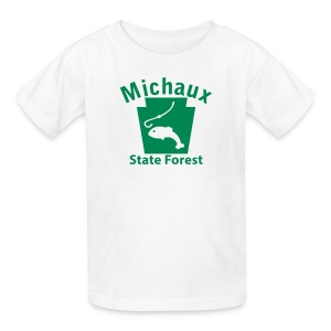 Michaux State Forest Keystone Fish - Kids' T-Shirt