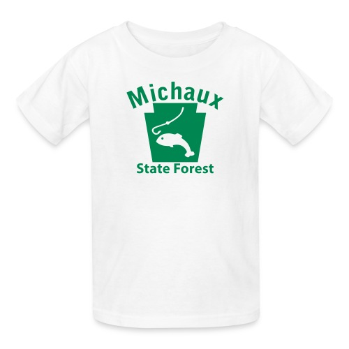 Michaux State Forest Keystone Fish - Kids' T-Shirt