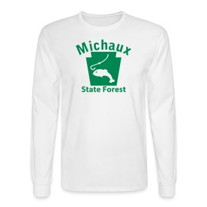 Michaux State Forest Keystone Fish - Men's Long Sleeve T-Shirt