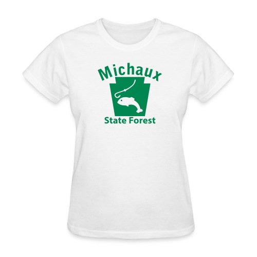 Michaux State Forest Keystone Fish - Women's T-Shirt