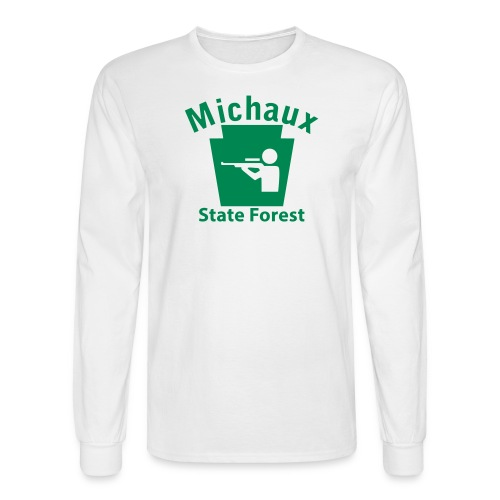 Michaux State Forest Keystone Hunt - Men's Long Sleeve T-Shirt