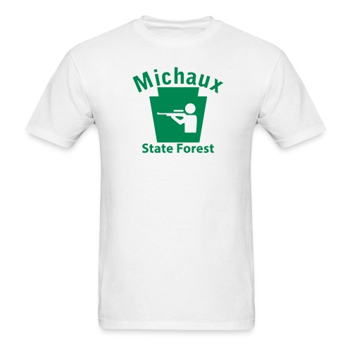 Michaux State Forest Keystone Hunt - Men's T-Shirt